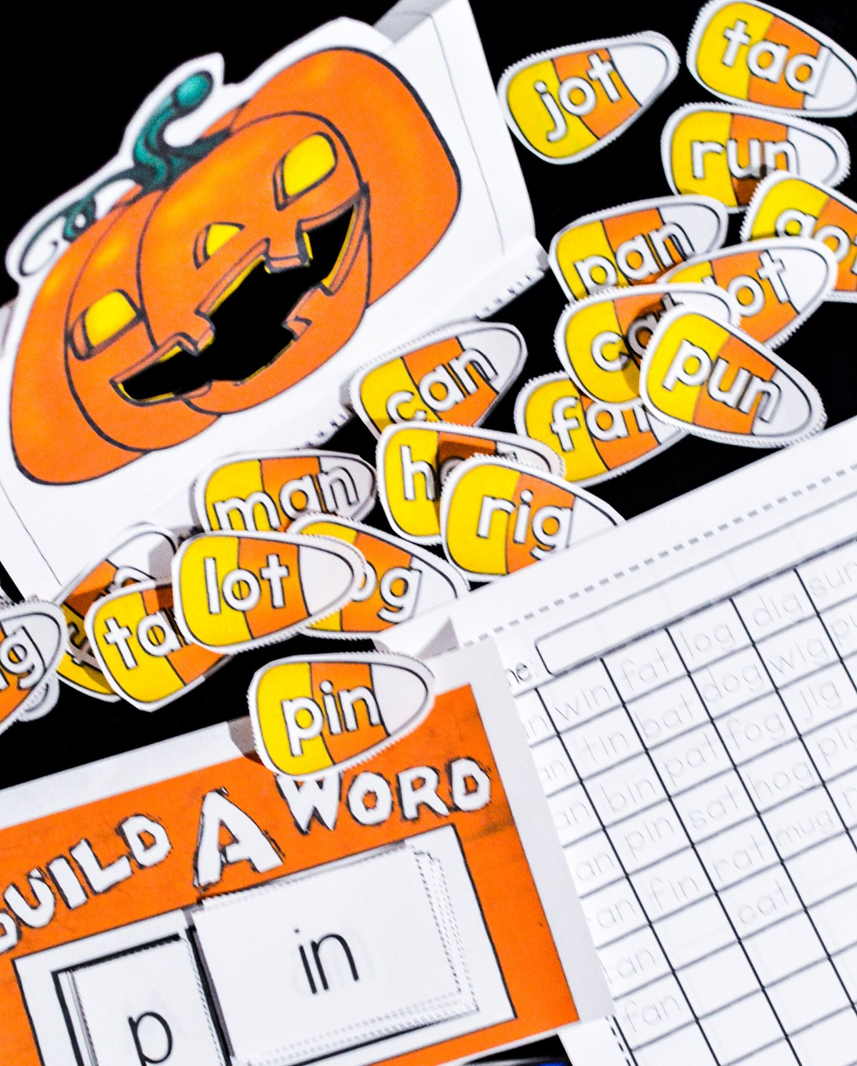 Feed The Jack O Lantern Halloween Kindergarten And First