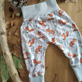 Pantalon évolutif bébé renards