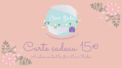 Carte Cadeau 15e