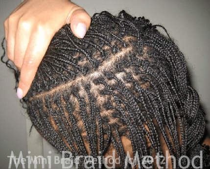 How To Parting On A Grid The Mini Braid Method