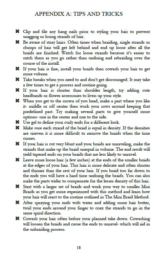 Ebook: The Mini Braid Method (4/5)