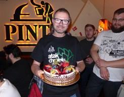 Urodzinowy tort, chyba na słodko