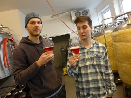 Bartek i Janek (domowy Alderaan Brewery)