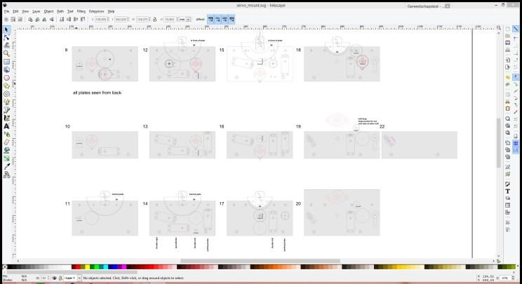 Mount panels. (sandwich of plexiglass, MDF, plexiglass)
