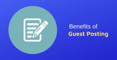 Major Benefits of Guest Blogging Guest Posting