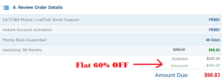 hostgator discount