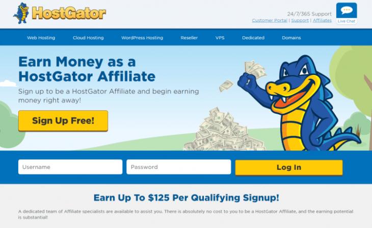 hostgator web hosting affiliate program