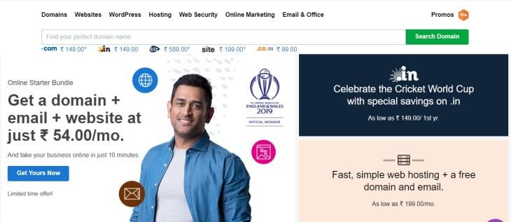 godaddy web service provider