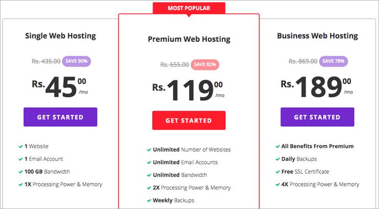 Hostinger web hosting provider
