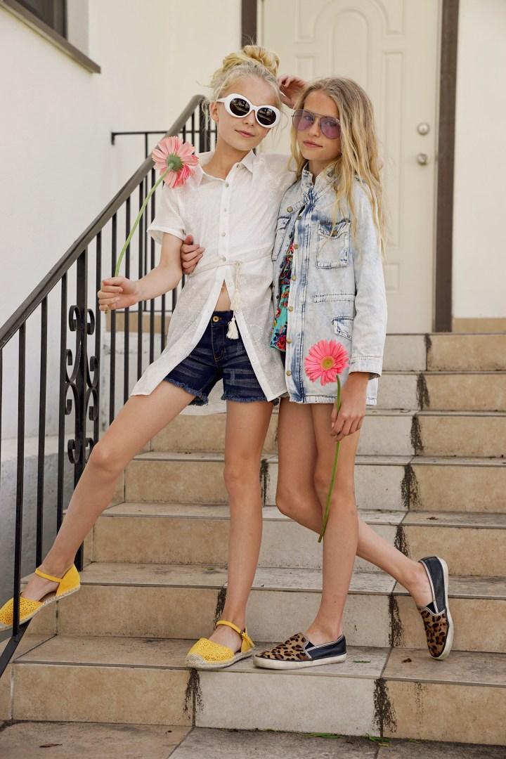 Spring Basics with Hayden Girls