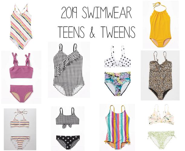 2019 Swimwear Teens and Tweens