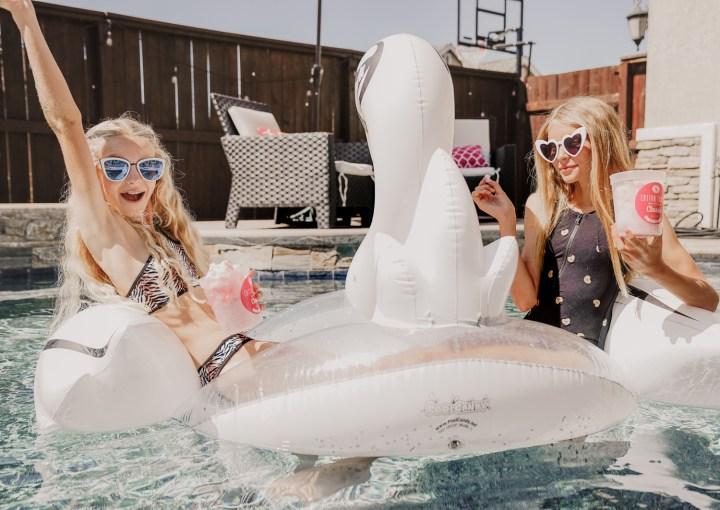 Summer Break With Submarine Swim