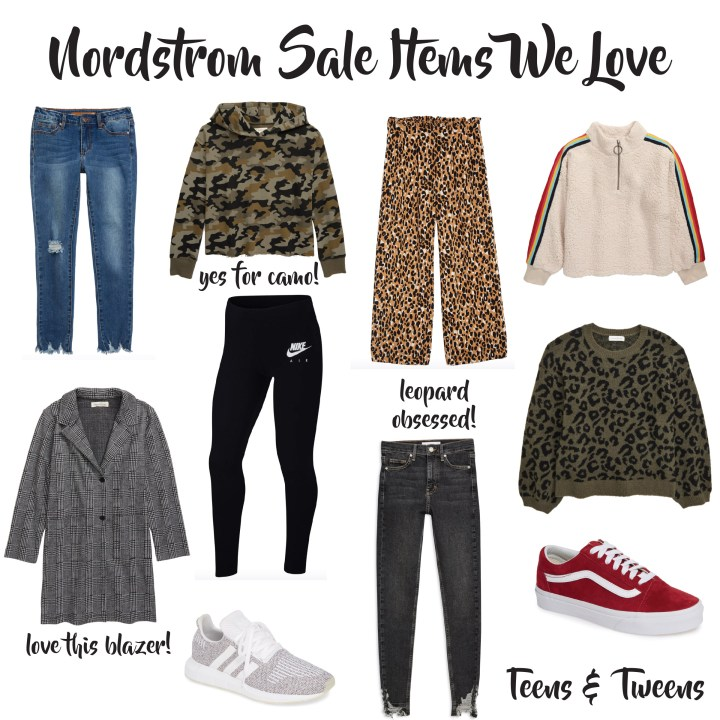 Nordstrom Sale Picks Teens and Tweens