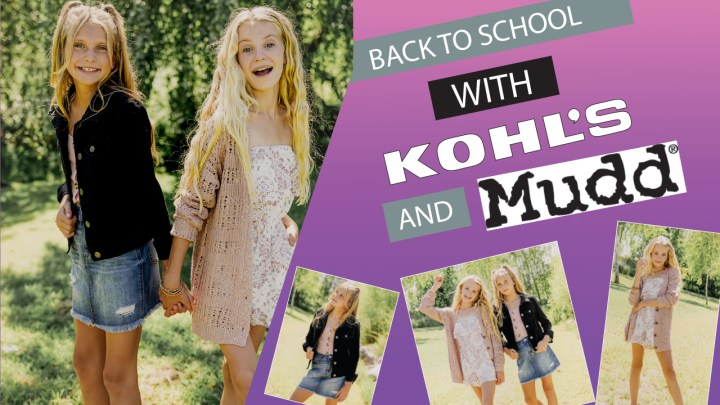 Back To School Shopping With Kohl's & Mudd