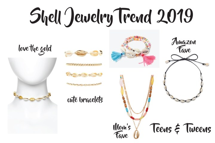 Shell Jewelry Trend Summer 2019 Teens Tweens