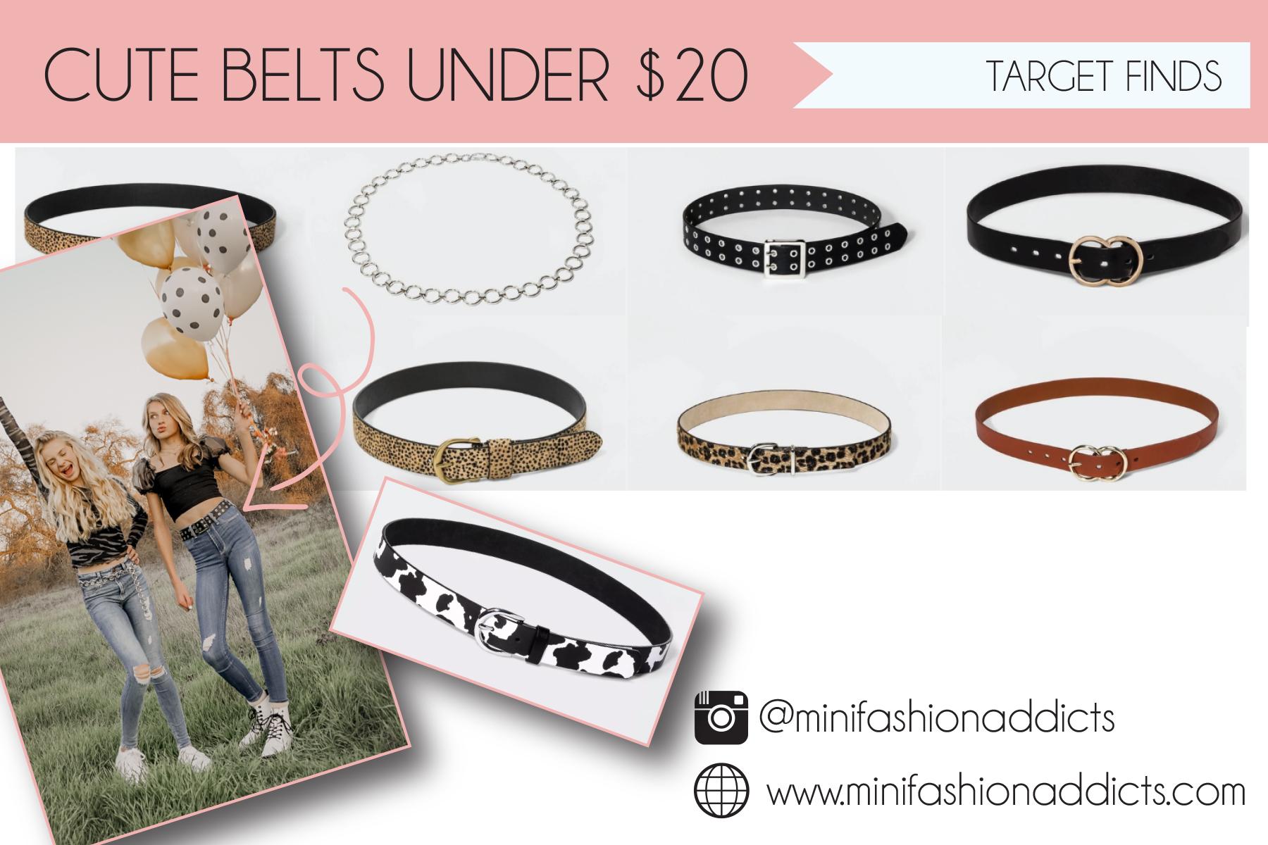 Favorite Belts Teens and Tweens