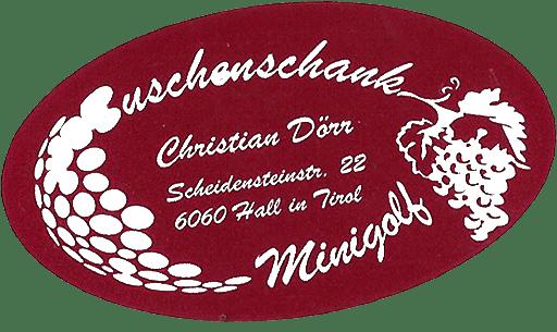 Minigolf und Buschenschank