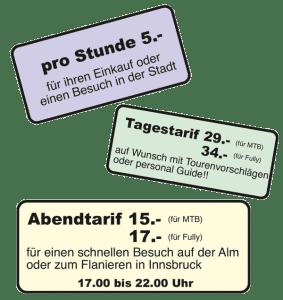 E-Bikepreise 2019; Minigolf Tirol, Dörr