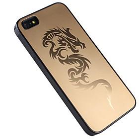 Metall-Etui mit geprägtem Dragon für iPhone5/iPhone5S (verschiedene Farben)