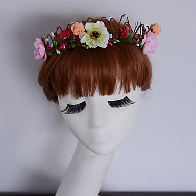 wedding flower crown white floral wreath wedding headpiece headband head wreath hair