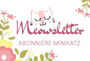 Abonniere den miniKatz-Meowsletter