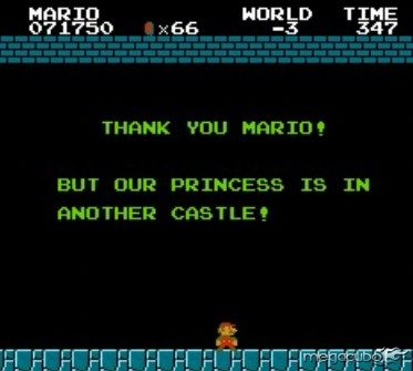 """""""Obrigado Mario!"""
