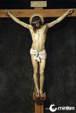 O Cristo crucificado, por Diego Velázquez