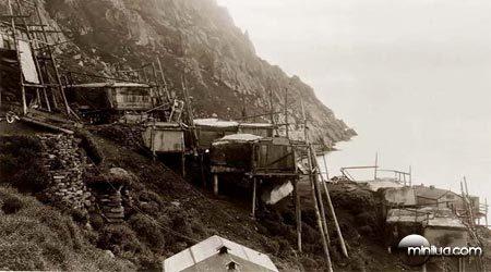 Vila esquimó/inuit abandonada