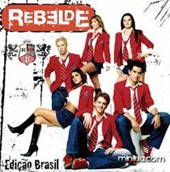 CD Rebelde(Edição Brasil)[Capa]