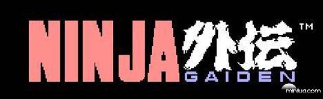 Ninja Gaiden - Title Screen-468x
