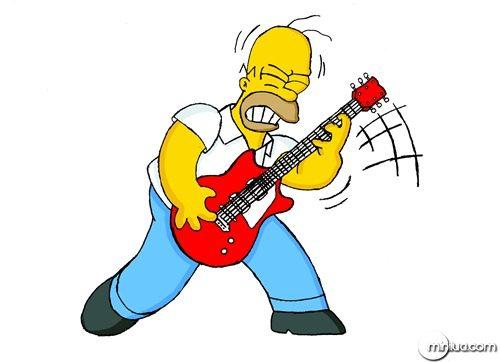 Homer___Rock_GOD___Coloured__o_by_Mattie_P