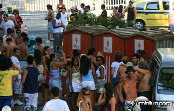 banheiros carnaval