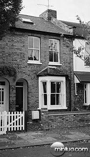 A casa da família Hodgson em Enfield, Norte de Londres-epicentro da atividade paranormal
