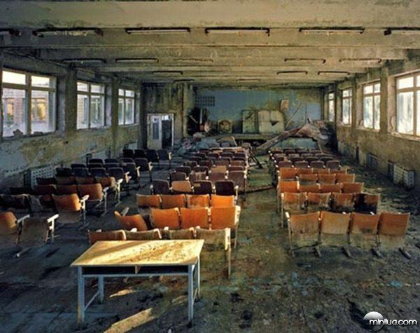 school Pripyat