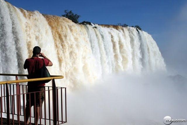 Iguazú-Falls-Brazil