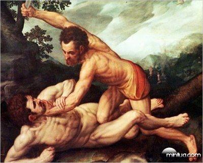 Caim Abel Sete incesto mulher caim