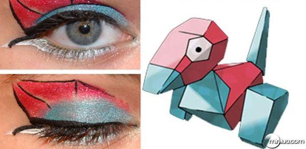 maquiagem-para-os-olhos-pokemon-make-porygon