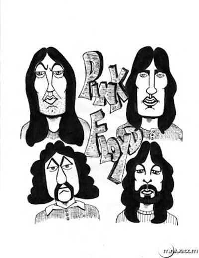 desenho Pink Floyd