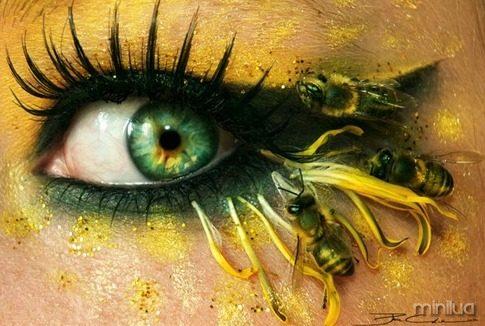 arte e maquiagem abelhas_thumb[1]