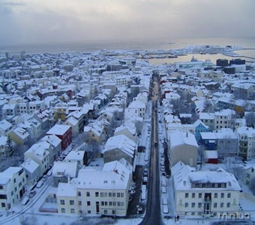 Iceland's capital, Reykjavik