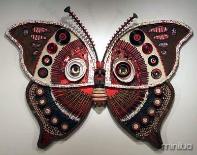 borboleta de vinil 1