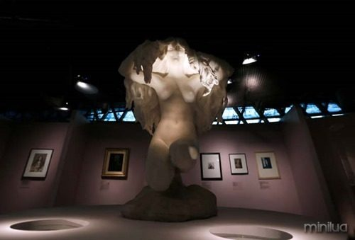 FRANCE-EXHIBITION-HAIR-BRANLY
