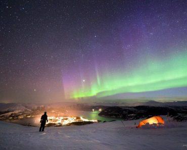 A grande beleza da Aurora Boreal #3