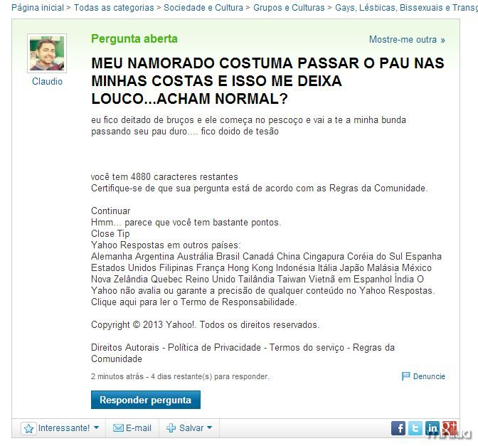 As maiores prolas do yahoo respostas 41 minilua stopboris Gallery