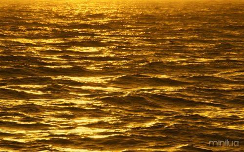 Gold-Ocean-Sunset-Beach-Wallpaper-