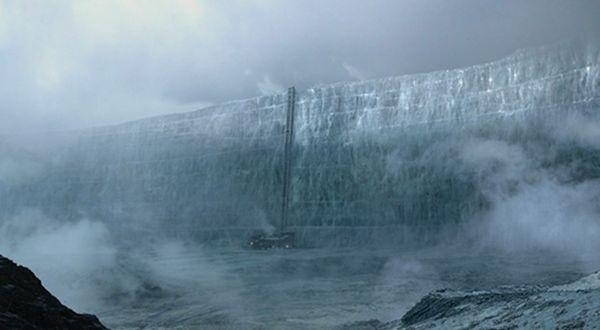 Muro gigante de gelo em Fukushima - Skylab
