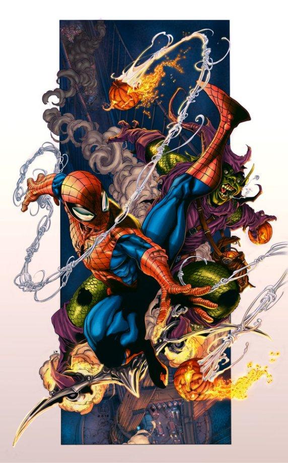 spiderman_vs__green_goblin_tolibao_by_amsart81-d5p6v00