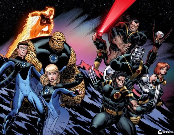 Ultimate_FF_and_Xmen_by_skage