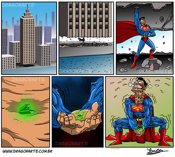 dragonarte_superman_ergue_criptonita_post