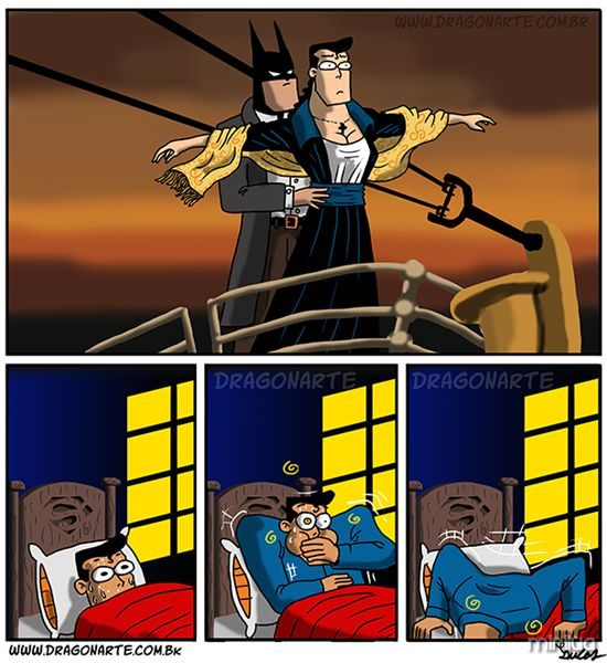 dragonarte_titanic_batman_superman_post